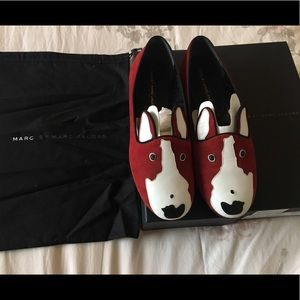 Marc By Marc Jacobs Neville dog loafers size 9